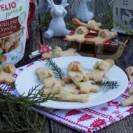 Kruche waniliowe ciasteczka z orzechami laskowymi