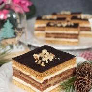 ciasto miodowe z wkładką toffi
