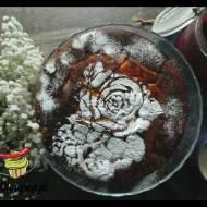 Ciasto z konfiturą żurawinową