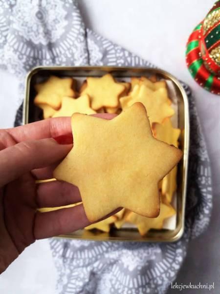Kruche ciasteczka świąteczne / Christmas Shortbread Cookies