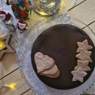 Piernikowe brownie z polewą