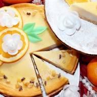 Sernik pomarańczowy (z mlekiem i olejem)