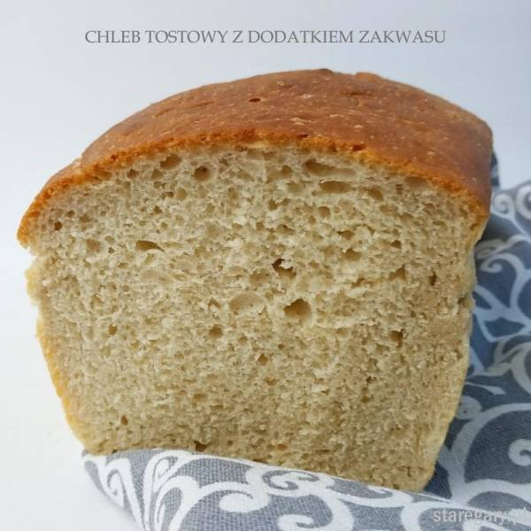 Chleb pszenny na drożdżach i resztkach zakwasu