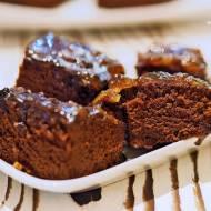 Bardzo łatwe ciasto czekoladowe Wacky Cake