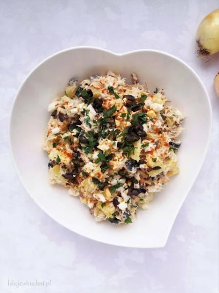 Sałatka ziemniaczana z wędzoną makrelą / Smoked Mackerel Potato Salad