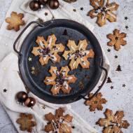 Cytrynowe ciasteczka świąteczne z lukrem