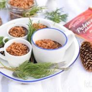 Świąteczny mus czekoladowy z kokosową kruszonką