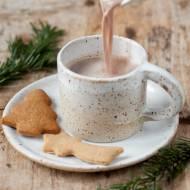 Gorąca czekolada z tahini i cynamonem