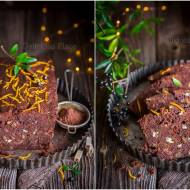Kakaowy piernik z brandy i bakaliami / Cocoa gingerbread with brandy and dried fruits
