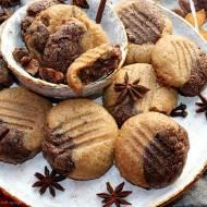 Piernikowe ciasteczka z masła orzechowego (bez mąki)