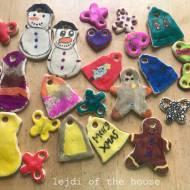 Zajmujemy dzieci #7: ozdoby z solnego ciasta...