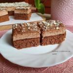 Czekoladowa rozkosz - ciasto potrójnie czekoladowe