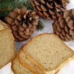 Wigilia pachnąca domowym chlebem, żytni z paloną mąką