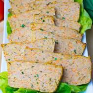 Pieczeń z mielonej szynki wieprzowej z warzywami (na Święta lub na kanapki)