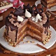 Tort piernikowo krówkowy cappuccino
