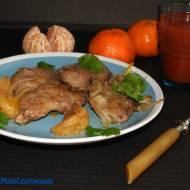 Wątróbka kacza w mandarynkach z limonchello