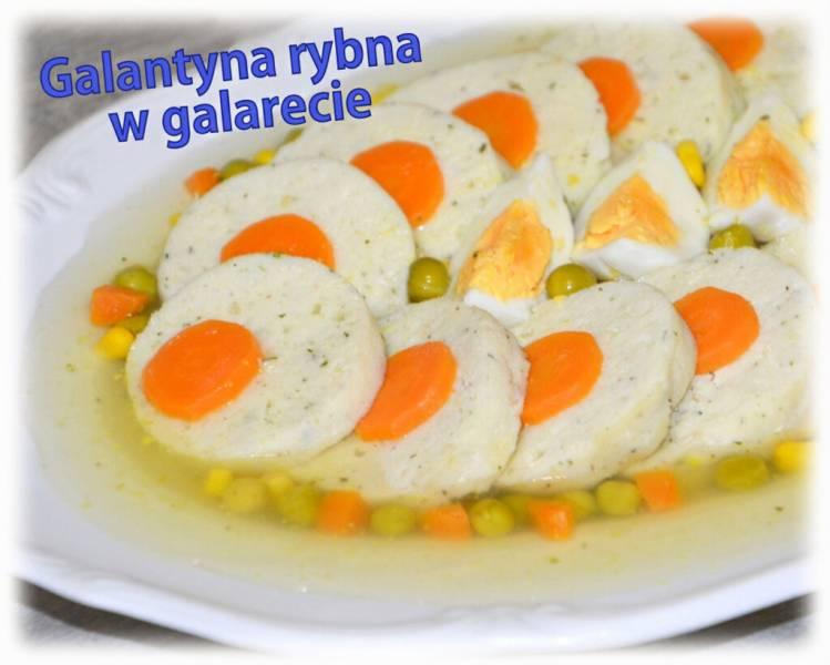 Galantyna rybna w galarecie