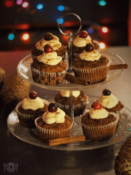 Keto muffiny piernikowe (Palo, LowCarb)