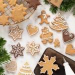 Świąteczne pierniczki do dekoracji (lub stemplowania)
