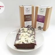 Brownie kawowo-bananowe