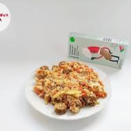 Bezmięsne kiełbaski włoskie z włoszczyzną i kaszą kuskus