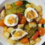 Śródziemnomorska sałatka z holloumi