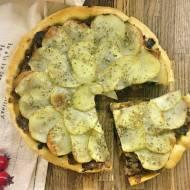 Resztki ze świąt – tarta z kapustą wigilijną