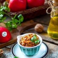 Czerwone pesto z suszonych pomidorów