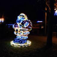 Łódzki Kazimierz w świąteczny wieczór