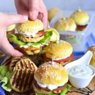 Mini burgery z mięsem drobiowym