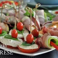 Koreczki z sera i pomidora
