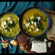 Zupa cukiniowa z pulpetami z indyka