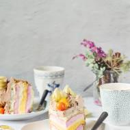 Wielosmakowy tort na Sylwestra