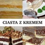 12 przepisów na ciasta z kremem