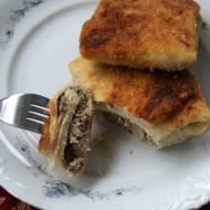 Krokiety z mięsem i pieczarkami