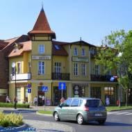 Ciekawe wille, budynki, dworki w Ciechocinku woj. kujawsko - pomorskie