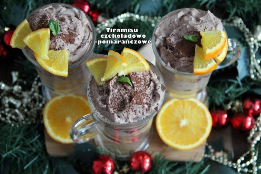Tiramisu czekoladowo-pomarańczowe