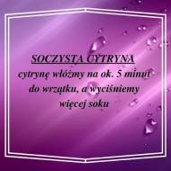 1 porada - soczysta cytryna