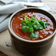 Meksykańska zupa z mieloną wołowiną
