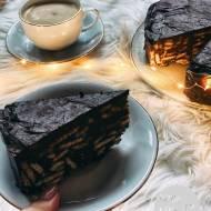 Blok czekoladowy - Tort