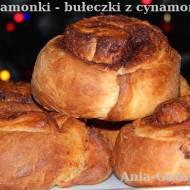 Cynamonki, szybkie bułeczki z cynamonem