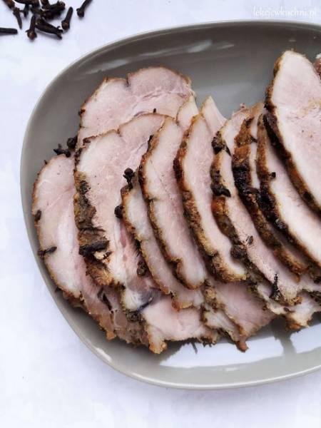 Szynka pieczona z gożdzikami / Baked Ham with Cloves