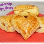 Francuskie ciasteczka z konfiturą