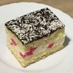 Ciasto biszkoptowe z kremem mascarpone