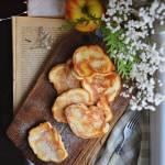 Racuszki z jabłkiem na kefirze