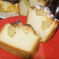 drożdżowe ciasto z jabłkami, kruszonką...