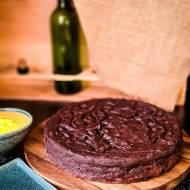 Brownie kakaowe z cytrynowym Custardem