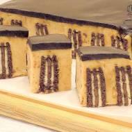 Ciasto budyniowe bez pieczenia czyli budyniowiec na zimno