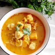 Zupa meksykańska z batatami i kurczakiem
