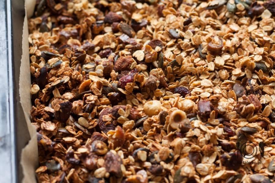 Domowa granola – prosty przepis
